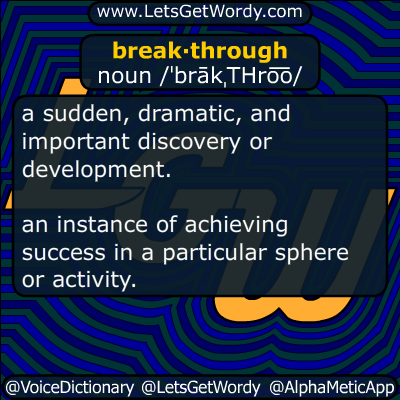 breakthrough 12/02/2018 GFX Definition