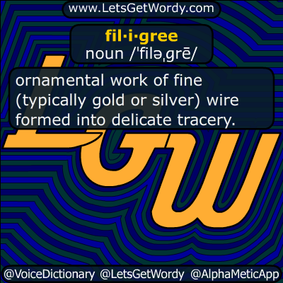 filigree 12/07/2018 GFX Definition