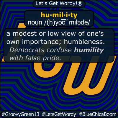 humility 12/06/2019 GFX Definition
