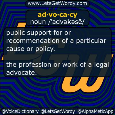 advocacy 12/10/2018 GFX Definition