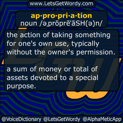appropriation 12/16/2018 GFX Definition