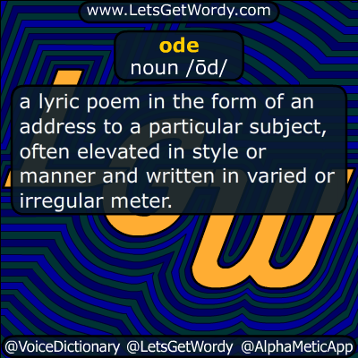 ode 12/20/2018 GFX Definition