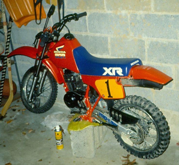 1985 Honda XR80r