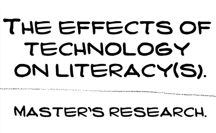 The Effects of Technology on Literacy(s) cover